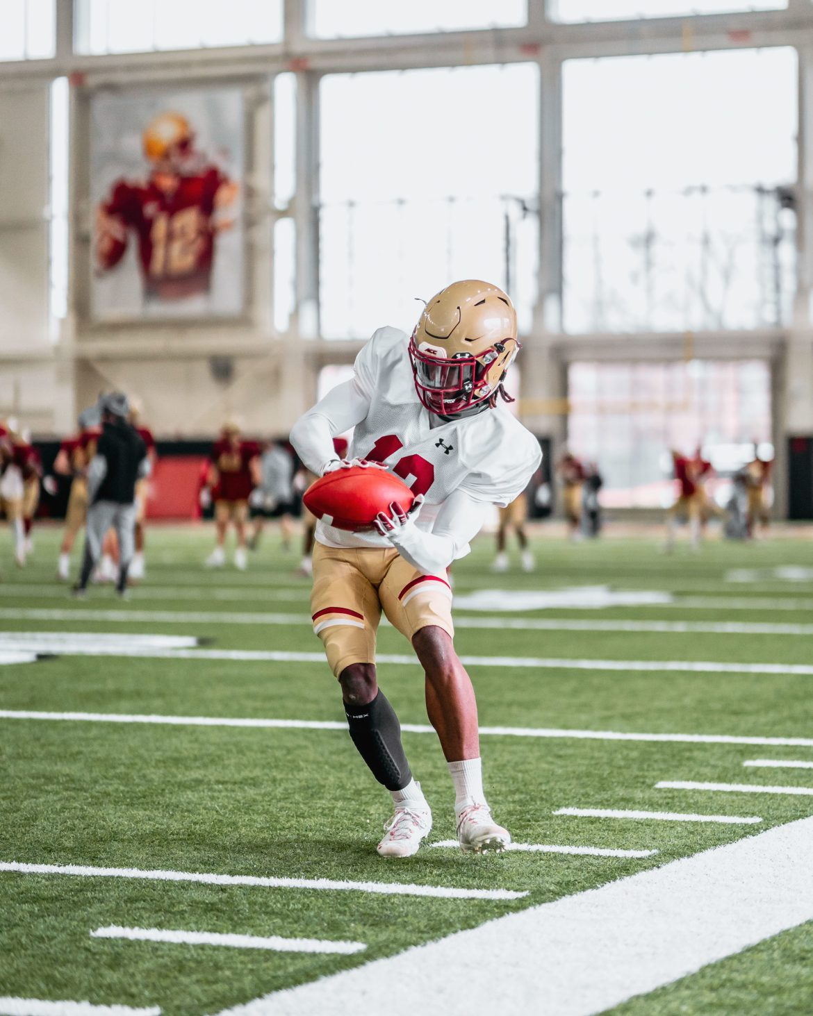 BC Spring Football Blog #7: Eagles Return to Practice Field in Full Pads