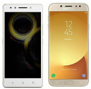 Lenovo K8 Note & Samsung Galaxy J7 Pro
