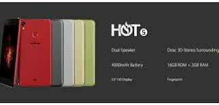 infinix hot series