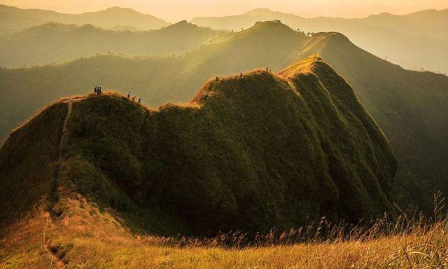 เดินป่า, สันหนอกวัว, กาญจนบุรี, เดินป่าในประเทศไทย, เส้นทางเดินป่า