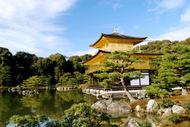 ที่เที่ยวในเกียวโต, เกียวโต, วัดทอง, วัดคินคะคูจิ