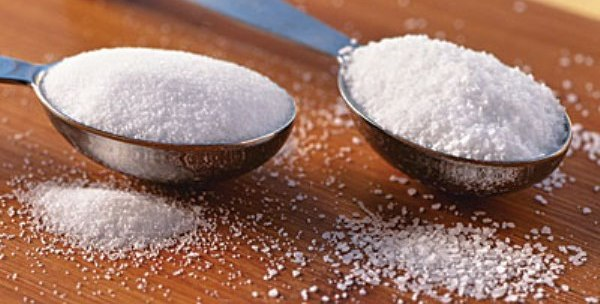 เกลือและน้ำตาล, สารประกอบ, ธาตุและสารประกอบ