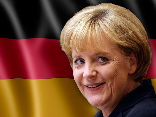 Có vẻ như vị lãnh đạo thế giới tự do ngày nay không phải ai khác mà chính là bà Angela Merkel. Hình minh họa: Internet