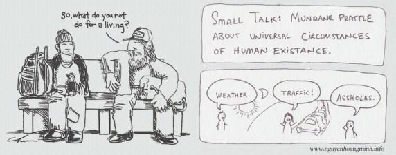 Hãy bắt đầu nói chuyện, ngay cả khi bạn chẳng có gì để nói - Small talks