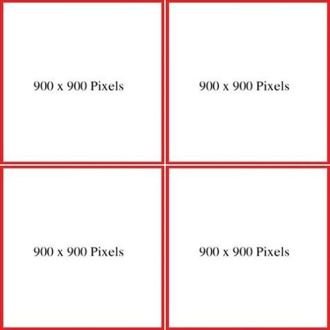 Cách bố cục hình ảnh hợp lý theo kích thước chuẩn của Facebook