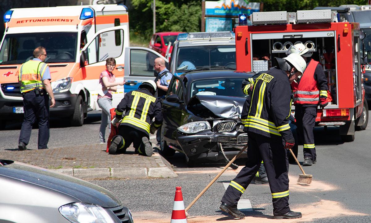 Unfall Homberg