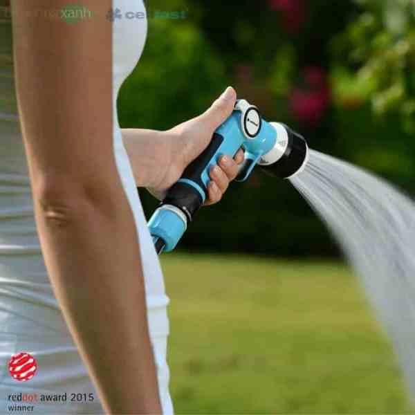 Vòi tưới tay gạt đa năng 4 chế độ tưới Cellfast Ergo