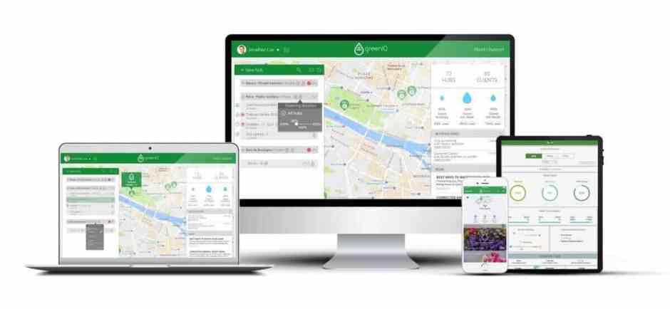 Smart garden hub ứng dụng trên máy tính