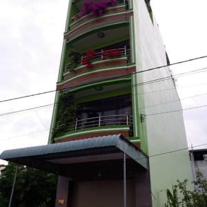 Nhà Cho Thuê 1 Trệt 4 Lầu KDC Ngân Thuận Gần Đường Lê Hồng Phong