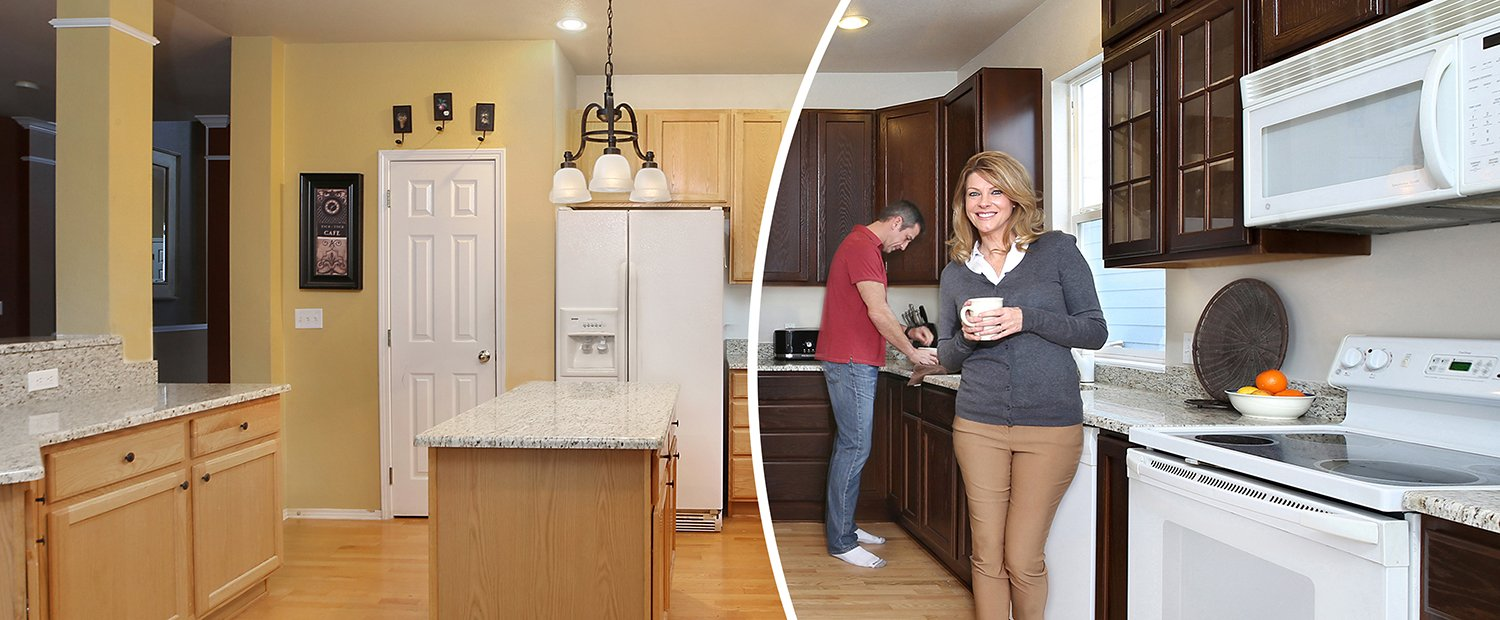 Kitchen Cabinet Refinishing Painting & Refacing