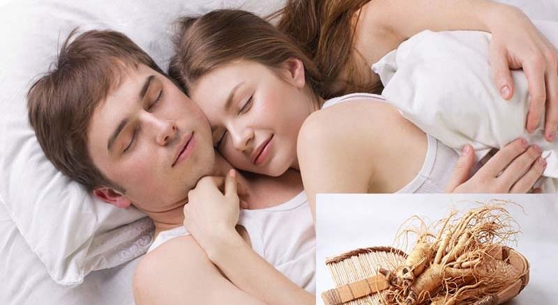 sử dụng nhân sâm tươi đạt hiệu quả trong vợ chồng