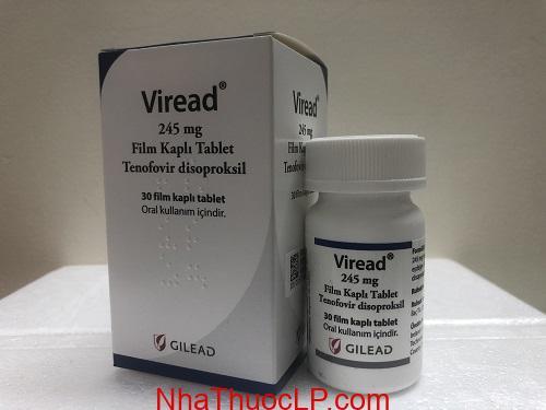 Thuoc Viread 300mg Tenofovir