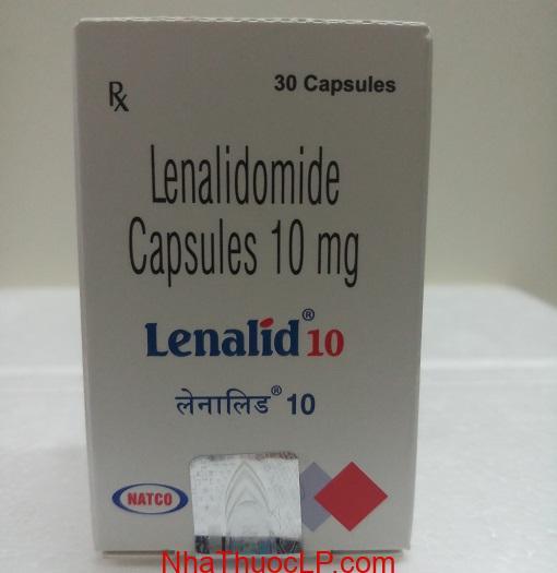 Thuoc Lenalid 10mg 15mg Lenalidomide dieu tri ung thu mau (2)