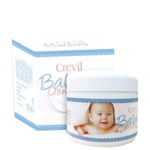 CREVIL BABY CREME: Kem chống hăm tả, nẻ da cho bé (125 ml)