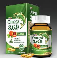 Dầu cá omega 369 dầu gấc bổ mắt