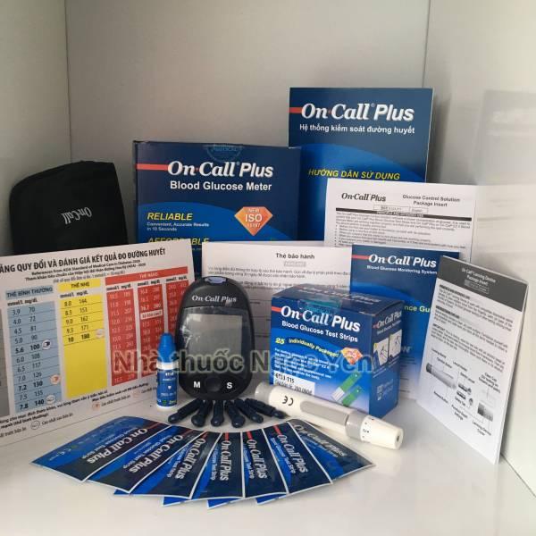 On Call Plus - Mỹ - Máy đo tiểu đường chính hãng tốt