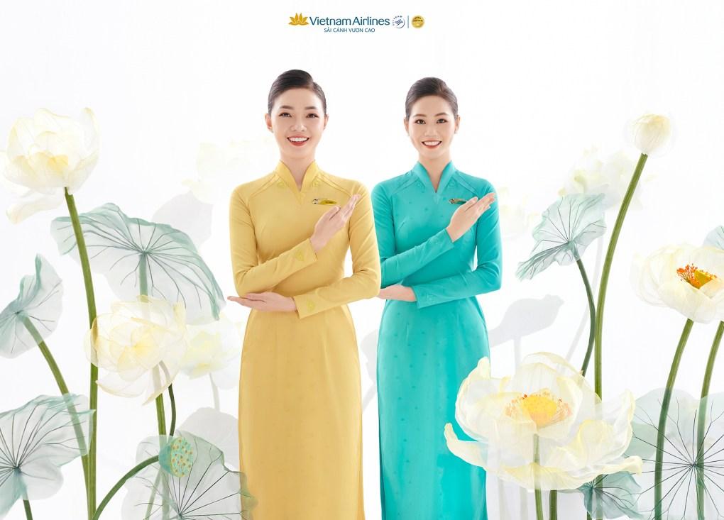 Vietnam Airlines tỏa ngát khí chất sen vàng