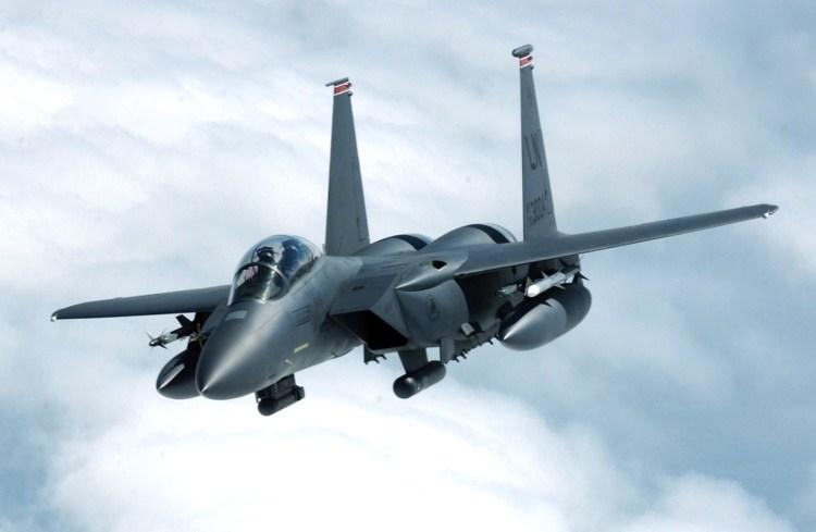 F-15E Strike Eagle thuộc không đoàn 494, Anh Quốc