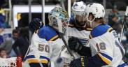 St. Louis Blues vence Jogo 5, por 5-0, contra San Jose Sharks