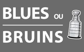 Dúvida entre Boston Bruins e St. Louis Blues