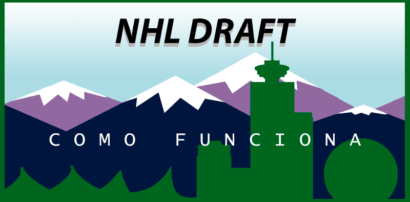 Como funciona o draft da NHL?
