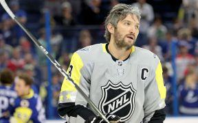 Ovechkin se torna o novo embaixador da NHL na China