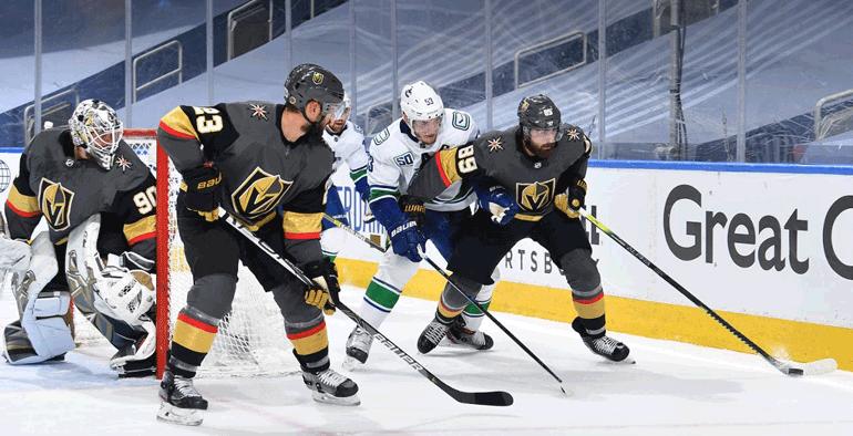 Golden Knights vencem Canucks em Jogo 7 para avançar nos Playoffs da Stanley Cup
