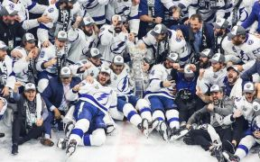 2020 Stanley Cup Champions Tampa Bay Lightning