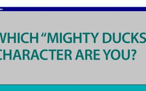 Quiz Mighty Ducks Character