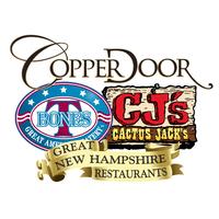 T-Bones / Cactus Jack / Copper Door $25