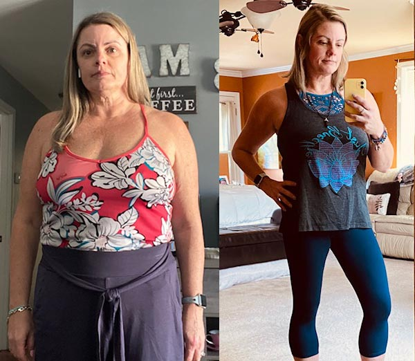 Nicole Hanson Before and After Keto