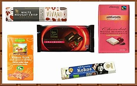 Veganismus: Lieblingsschokoladen.