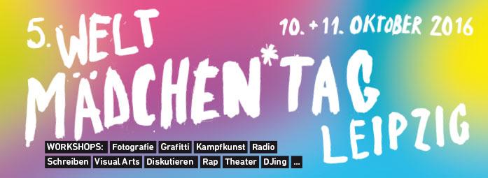 Weltmädchentag Leipzig: 10.10- 11.10 2016