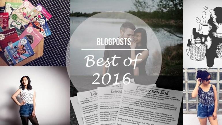 Jahresrückblick – Best of 2016 Blogposts