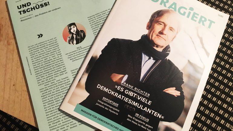 Kolumnen fürs Couragiert-Magazin