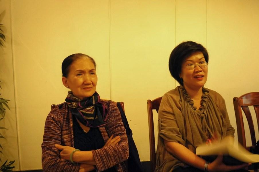 Bà Thanh (quả phụ Nguyễn Thành Trí) và cô con gái Nguyễn thị Thanh Thảo.Sài Gòn 01/14. Ảnh Huy Đức