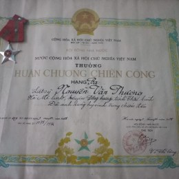 Công trạng của những người lính chiến đấu trong trận hải chiến Gạc Ma được ghi nhận vào tháng 12-1988.