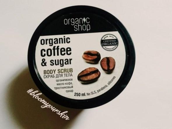 Kem tẩy da chết Organic Shop Coffee Bean