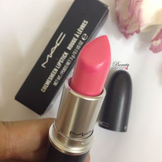 [REVIEW] MAC LIPSTICK/ Son MAC Matte Mehr và Creamsheen Pink Pearl Pop
