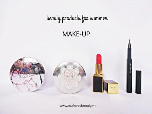 Top 15 sản phẩm chăm làm đẹp lý tưởng cho mùa hè