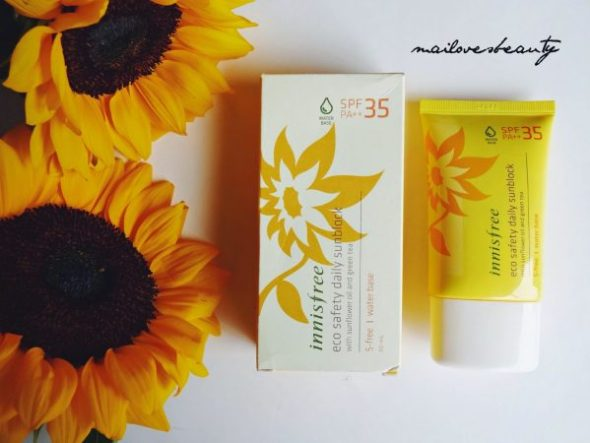 Kem chống nắng : Innisfree Eco Safety Daily Sunblock SPF 35/PA++