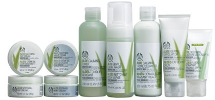 The bodyshop Aloe vera
