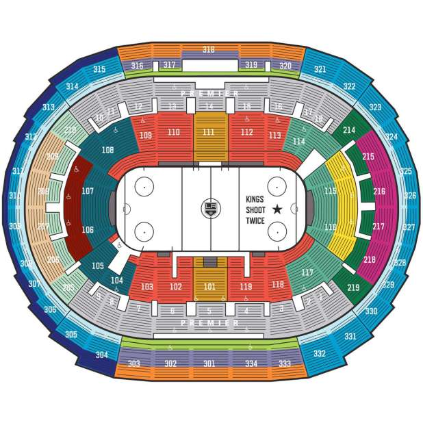 Staples Center Concert Seating Chart Seat Numbers ...