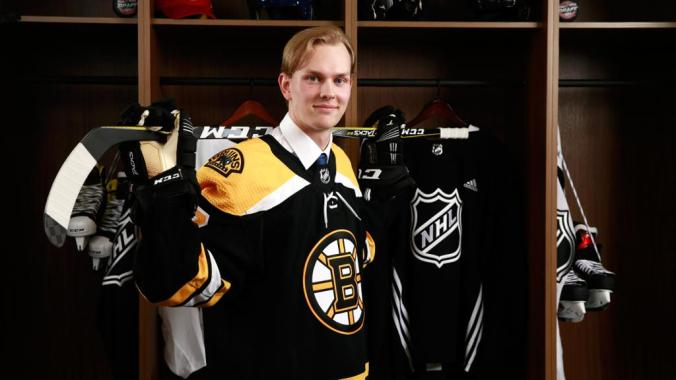 Image result for Boston Bruins 2017 draft class