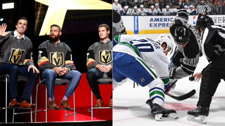 NHL preseason schedule released NEW YORK    The first NHL games played in China  the debut of the Vegas  Golden Knights and the opening of Little Caesars Arena  the new home of the  Detroit