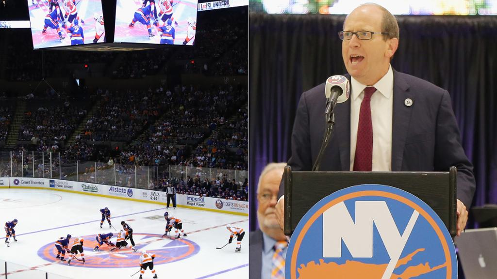 Islanders Committed To Building Arena At Belmont Park