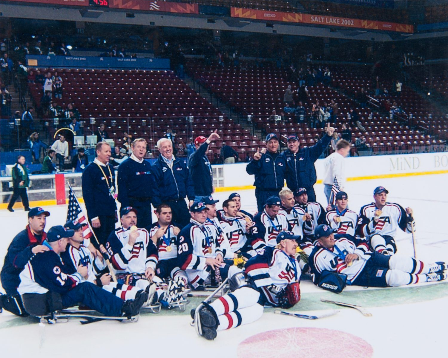 Tough Sledding – The story of the 2002 U.S. Paralympic Sled Hockey Team
