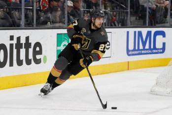 NHL: JAN 07 Rangers at Golden Knights