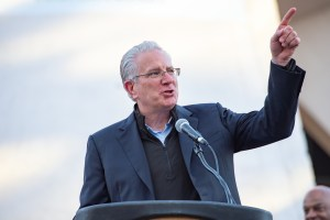 Tod Leiweke ground breaking