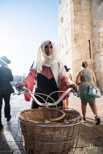 Palestinian Lady © 2016 Nizar M. Halloun